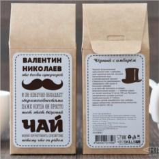 Чёрный чай Для настоящих мужчин