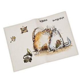 Обложка для паспорта дева