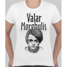 Женская футболка Valar Morghulis