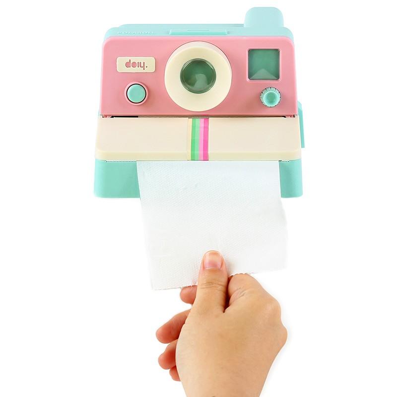 Держатель для туалетной бумаги Polaroll, розовый/мятный