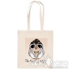 ЭКО-сумка с совой Элвис