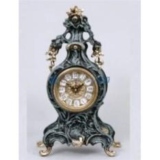 Каминные часы из бронзы Васко