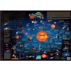 Настенная карта солнечной системы для детей