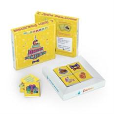 Шоколадный набор С Днем Рождения в желтой упаковке