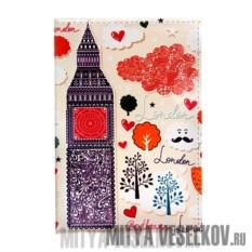 Визитница Влюбленный Лондон