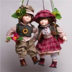 Фарфоровые парные куклы Сид и Нэнси