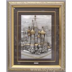 Картина Москва. Храм Василия Блаженного