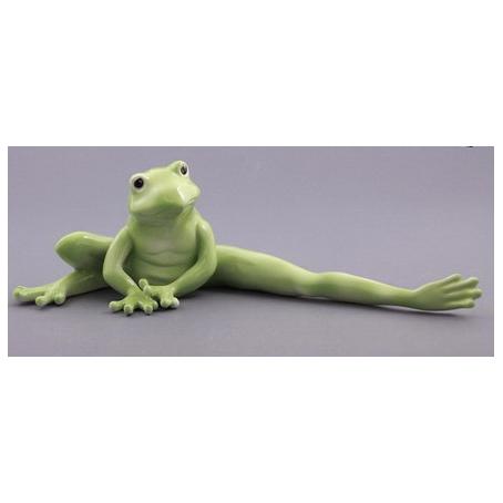 Фигурка фарфоровая «Лягушка Фрида»
