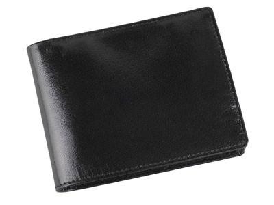 Кожаное портмоне с отделениями для кредитных карт и монет