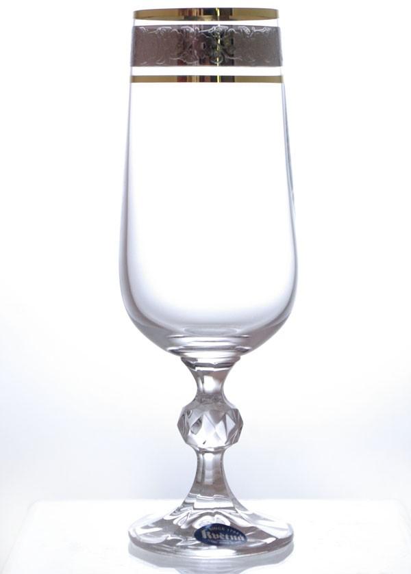 Набор 6 фужеров для шампанского 180 мл Crystalite Bohemia Клаудия 01251