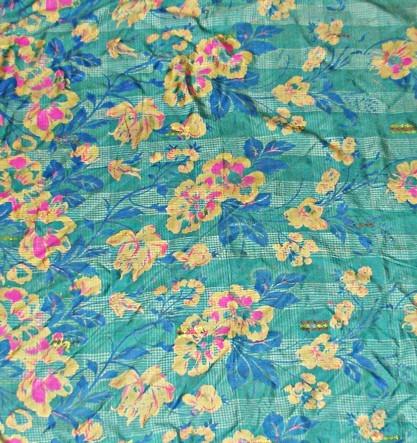 Шелковая шаль Вишневый сад