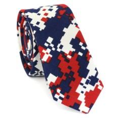 Узкий галстук (камуфляж)