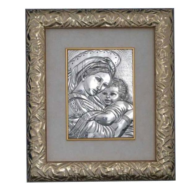Панно Placca madonna con bambino