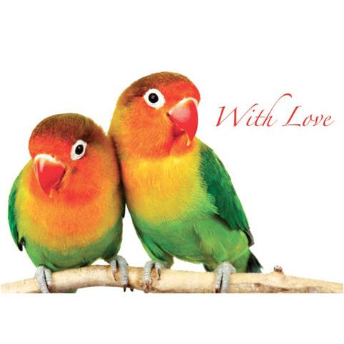 Открытка «With Love»