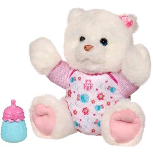 Интерактивный медвежонок, белый