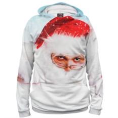 Мужское худи Санта Клаус