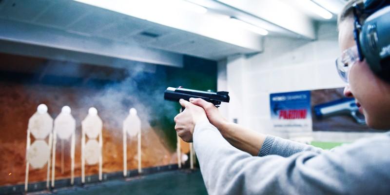 Сертификат Базовый курс стрельбы из пистолета в Москве
