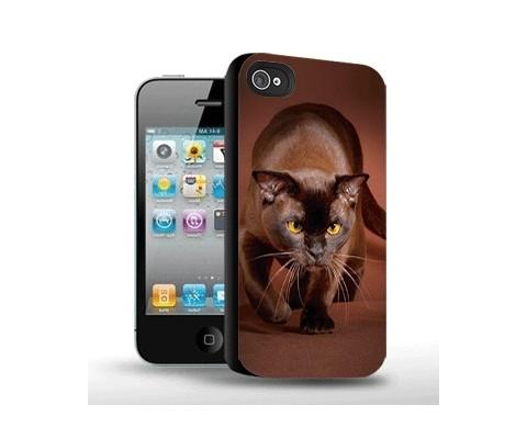 Панель для iPhone «Кошка на охоте»