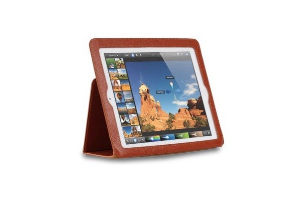 Чехол Yoobao Executive Leather Case для iPad3, коричневый
