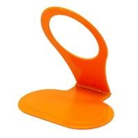 Подставка для зарядки телефона, оранжевая