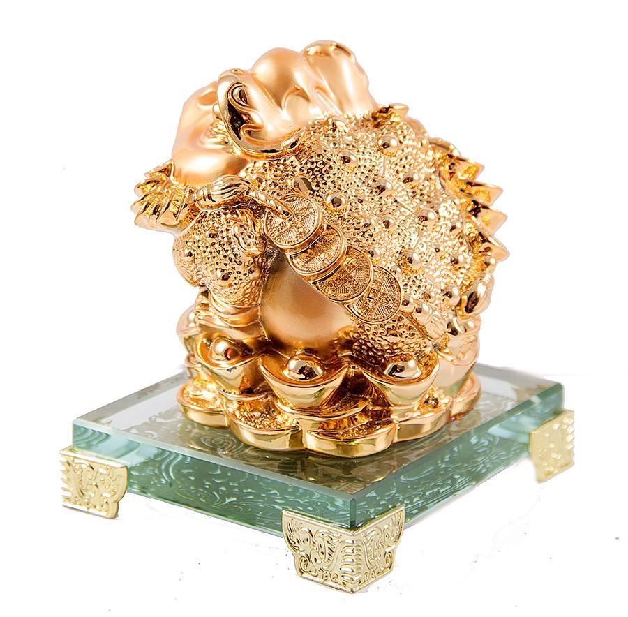 Статуэтка Трехпалая лягушка
