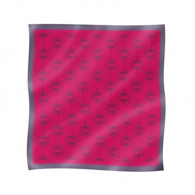 Платок шёлковый «Сто Стрекоз» Bino Tiani