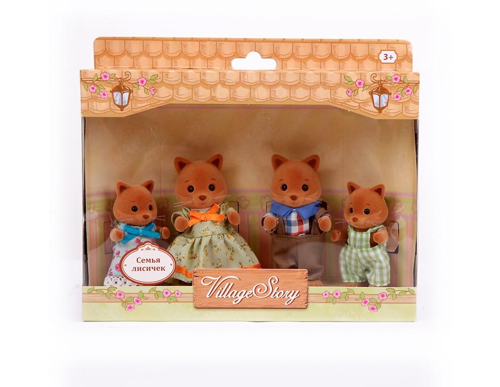 Игровой набор Семья лисичек