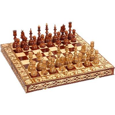 Шахматы «Резные»