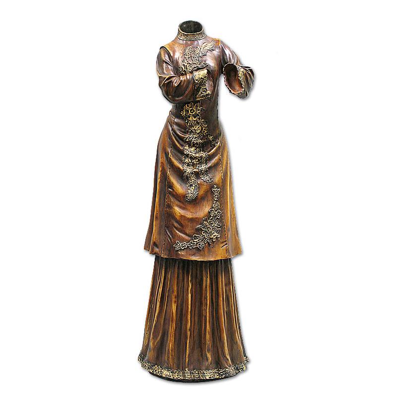 Ваза — силуэт женского платья