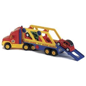 Автовоз с двумя машинами