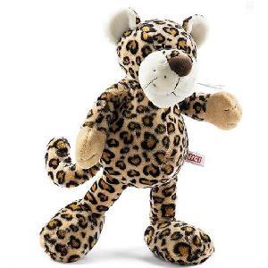 Плюшевый леопард