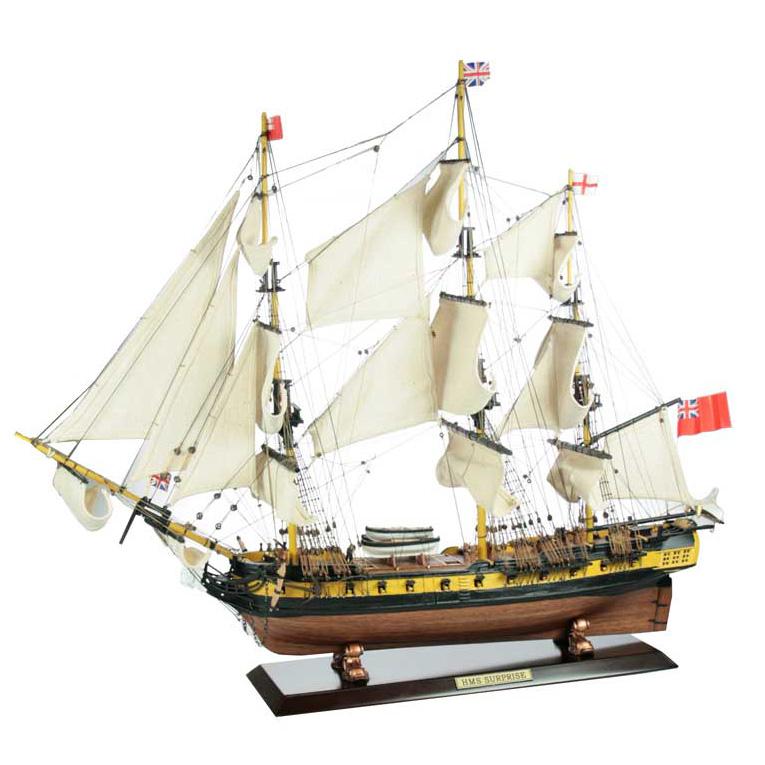 Модель корабля HMS Surprise