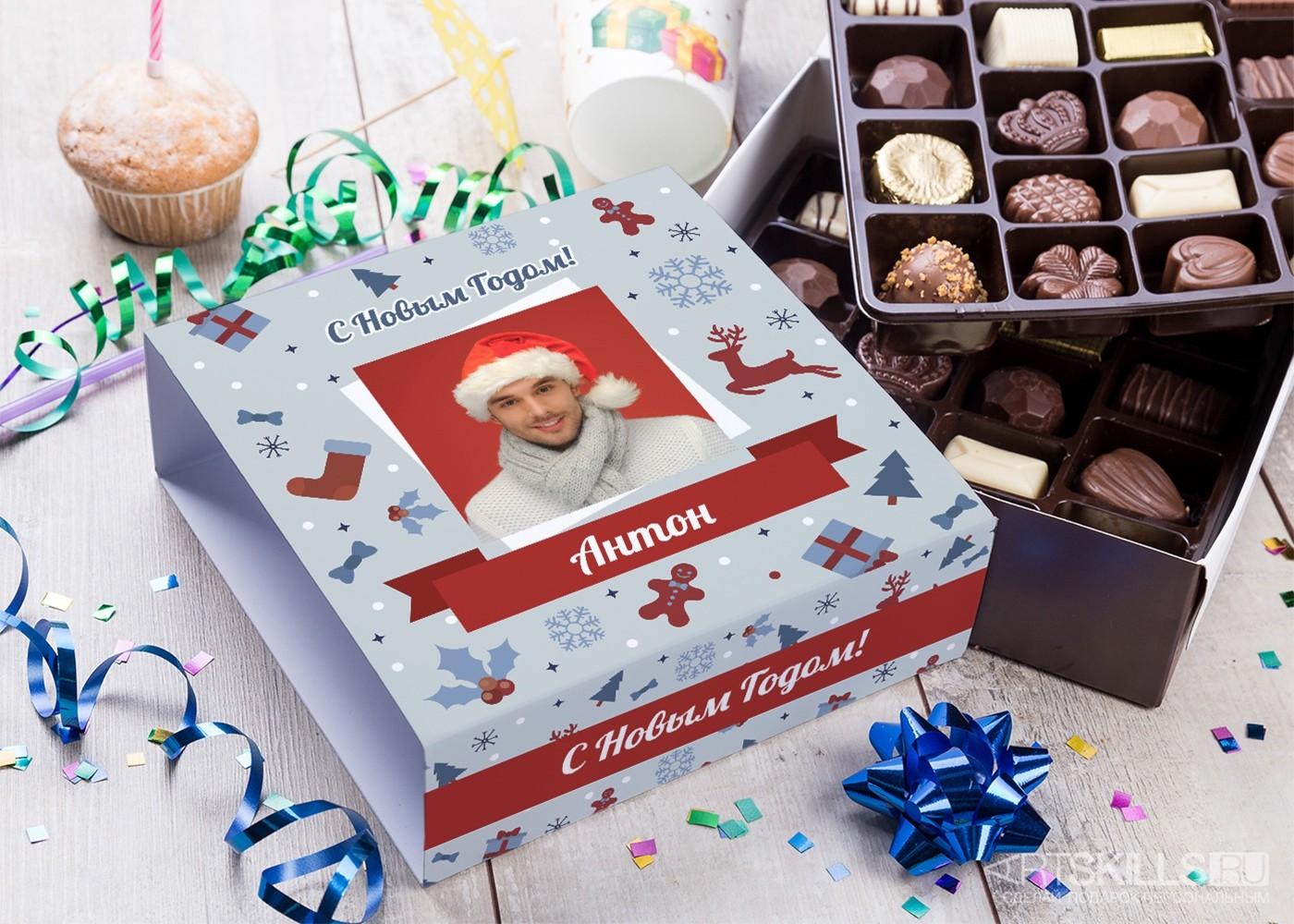 Бельгийский шоколад в упаковке Новогодняя сказка