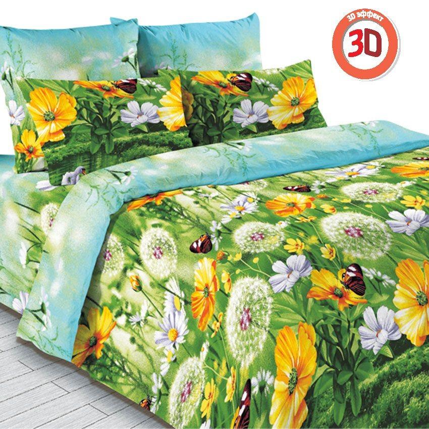 Комплект постельного белья Аура лета, 3D (2-спальный)