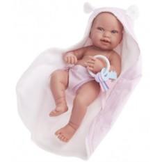 Кукла-младенец Ирена в розовом