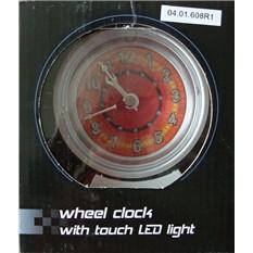 Часы настольные в виде колеса 4 с будильником