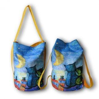 Сумка-рюкзак «На крыше»