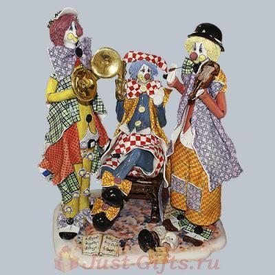 Статуэтка Трио клоунов