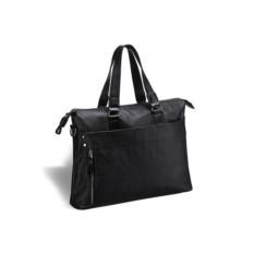 Деловая черная сумка Brialdi Stockton