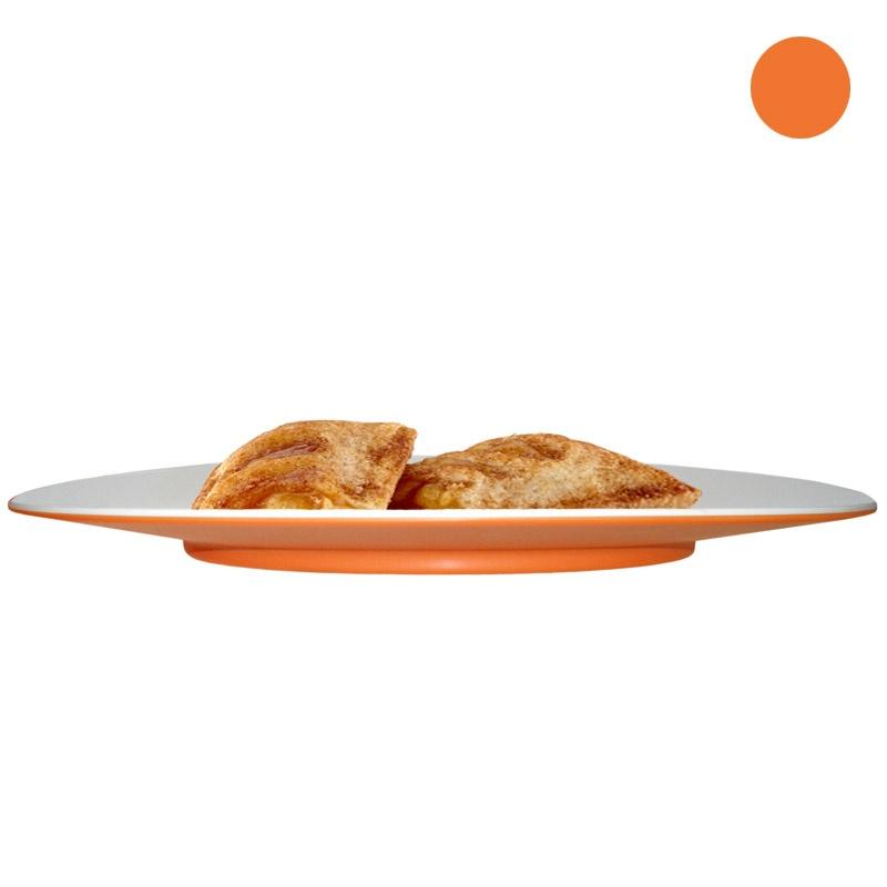 Тарелка десертная Entity оранжевая