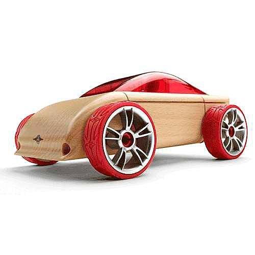 Машинка-конструктор Automoblox C9 Sports Car красный