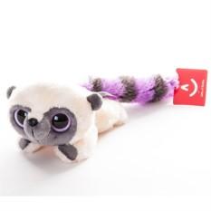 Мягкая игрушка Aurora Юху фиолетовый лежачий (16 см)