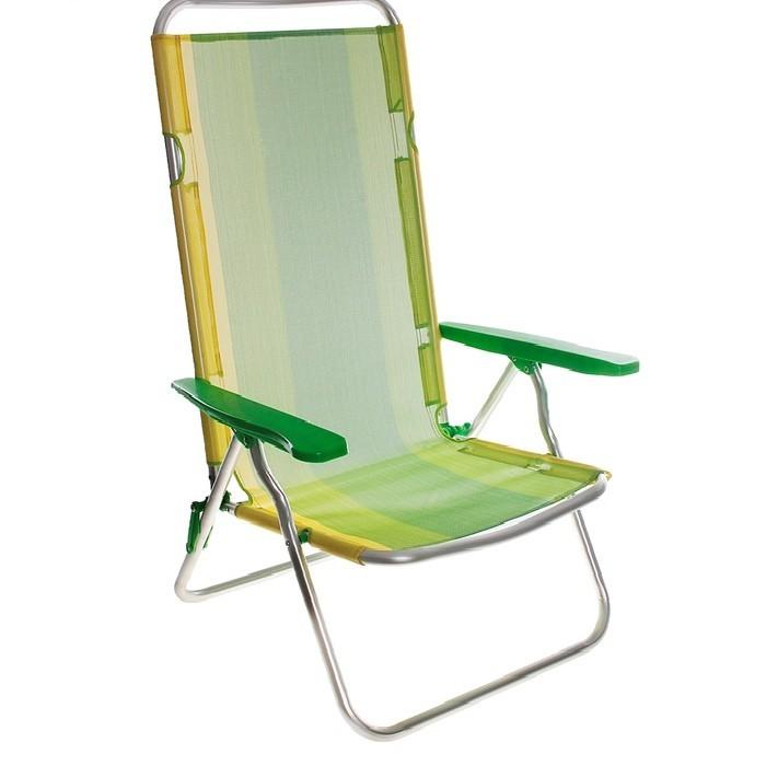 Складное алюминиевое кресло, тексталин