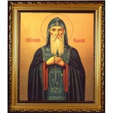 Икона на холсте Иоанн Рыльский преподобный