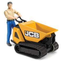 Перевозчик сыпучих грузов JCB Dumpster HTD-5 с рабочим
