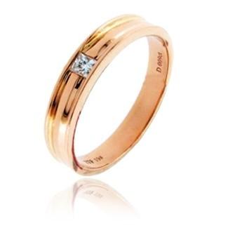 Кольцо с бриллиантом TTF-Luxury
