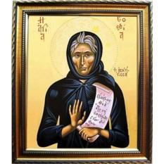 Икона на холсте София Хотокуриду  преподобная