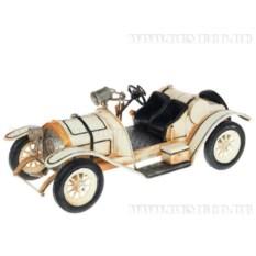 Металлическая модель автомобиля в ретро стиле