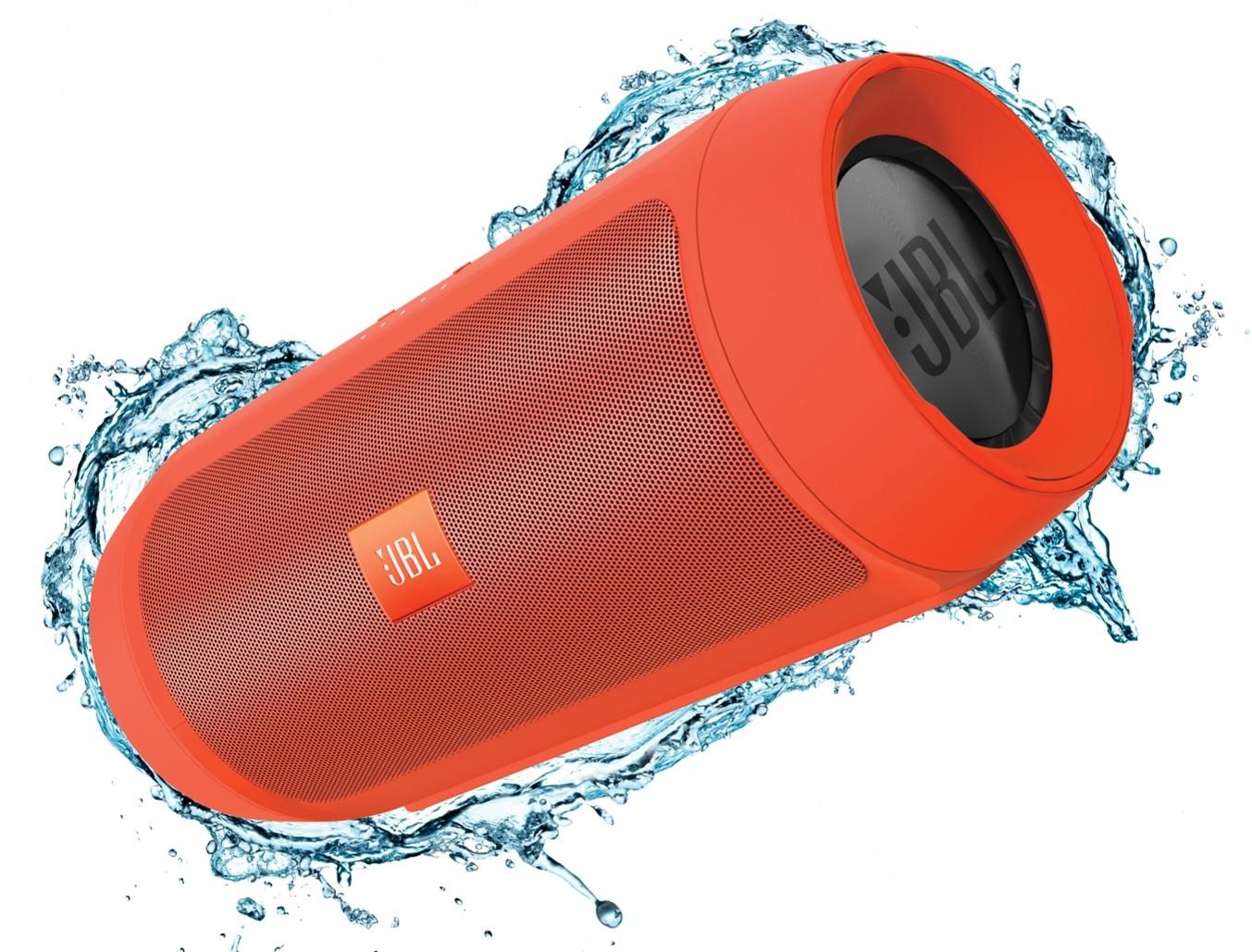 Оранжевая портативная колонка JBL Charge 2+ (Plus)