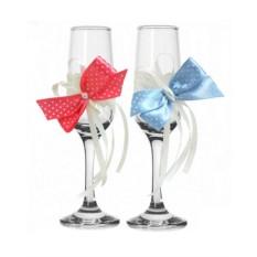 Набор свадебных бокалов №29